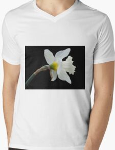 Silicon Valley Daffodils Mens V-Neck T-Shirt