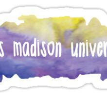 James Madison University - Watercolor Blob Sticker