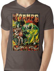 The Cramps Mens V-Neck T-Shirt