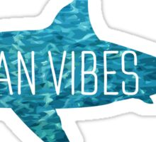 Ocean Vibes | Shark Sticker