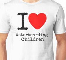 I <3 Waterboarding Children Unisex T-Shirt