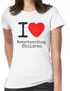I <3 Waterboarding Children Womens Fitted T-Shirt