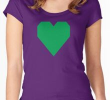 Pigment Green  Women's Fitted Scoop T-Shirt