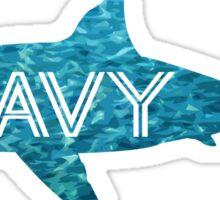 Wavy   Shark Sticker