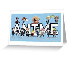 ANIME! Greeting Card
