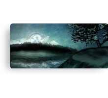 Moonlit Peace Canvas Print