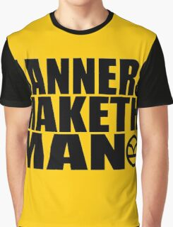 Manners Maketh Man - The Kingsman Movie - The Kingsman The Secret Service Graphic T-Shirt