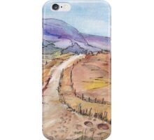 A road in Namibia iPhone Case/Skin