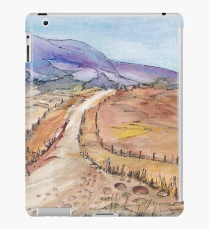 A road in Namibia iPad Case/Skin