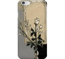 composition with rose iPhone Case/Skin