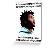 Hip-Hop Heathens Greeting Card