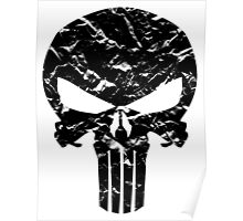 Punisher Logo (Black) Poster
