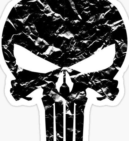 Punisher Logo (Black) Sticker