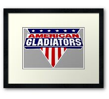 American Gladiators Framed Print