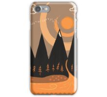 Sunny Mountain Pass iPhone Case/Skin