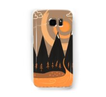Sunny Mountain Pass Samsung Galaxy Case/Skin
