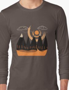 Sunny Mountain Pass Long Sleeve T-Shirt
