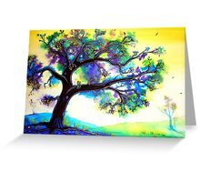 Tranquility - Trees  Greeting Card