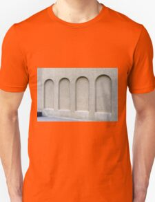 Arches on a wall. Unisex T-Shirt