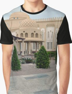 Islamic beautiful decorated beige building. Graphic T-Shirt
