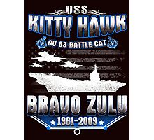 USS Kitty Hawk Photographic Print
