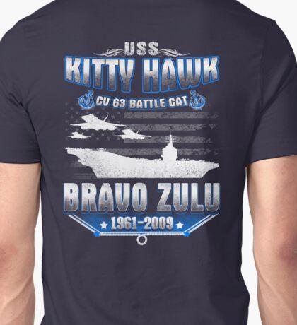 USS Kitty Hawk Unisex T-Shirt