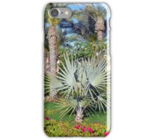 Natural background with palm trees. iPhone Case/Skin
