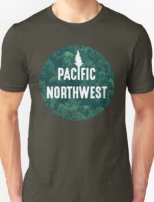 Pacific Northwest | Forest Circle T-Shirt