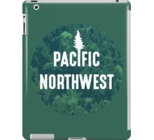 Pacific Northwest   Forest Circle iPad Case/Skin