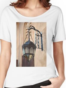 Vintage Gothic outdoor lamppost. Women's Relaxed Fit T-Shirt