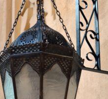 Vintage Gothic outdoor lamppost. Sticker