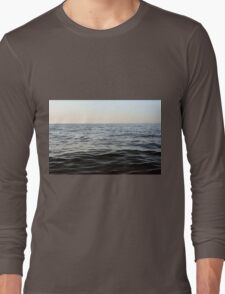 The sea natural background. Long Sleeve T-Shirt