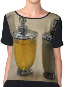 Two soap dispensers. Chiffon Top