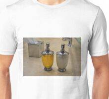 Two soap dispensers. Unisex T-Shirt