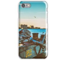 Nautical equipment in the port of Trieste iPhone Case/Skin