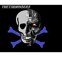 The T3rmin8er3 Channel Design Photographic Print