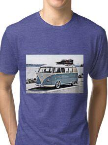 Pale Blue sea Tri-blend T-Shirt