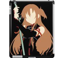 Asuna minimalist (Black version) iPad Case/Skin