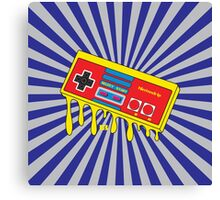 NES Nintendo Nintendrip Design Canvas Print
