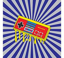 NES Nintendo Nintendrip Design Photographic Print