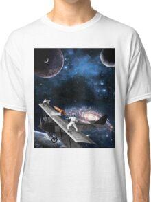 Space Tennis Classic T-Shirt