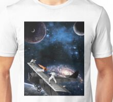 Space Tennis Unisex T-Shirt