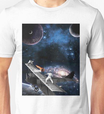 Space Tennis Unisex T-Shirt