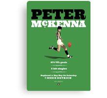 Peter McKenna, Collingwood (Hey Hey version) Canvas Print