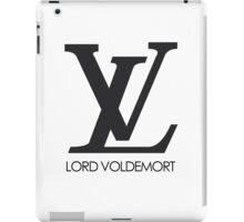 Lord voldemort logo iPad Case/Skin