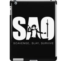 Scavenge, Slay, Survive! iPad Case/Skin