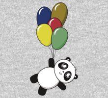 Pandas! Balloons! One Piece - Long Sleeve