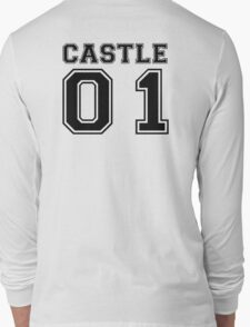 Castle 01 - Varsity Style Long Sleeve T-Shirt