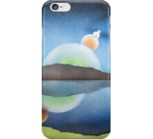 moons of an alien world  iPhone Case/Skin