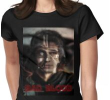 Bad blood Womens Fitted T-Shirt